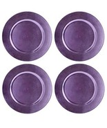 Northeast Home Goods Round Melamine Charger Plates 13-Inch, Set of 4 (Li... - $34.30