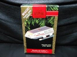 "Hallmark Keepsake ""Shuttlecraft Galileo"" 1992 Light & Sound Ornament NEW - $6.93"