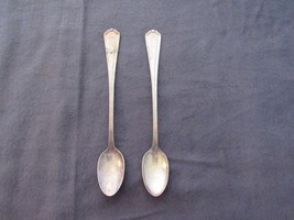Vtg Albert Pick Hotels 1946 Ice Tea Spoon Set of 2 - $18.93