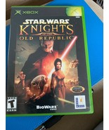 Star Wars: Knights of the Old Republic (Microsoft Xbox, 2003) - $10.40