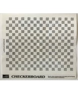 Checkerboard Rubber Stamp Large Background Stampin Up New U/M 1998 5.5 x... - $10.74