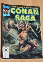 Conan Amra Saga 41 Aug Marvel Comic Magazine Barbarian 02928 - $3.19