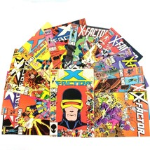 X-Factor Comic Book Lot 12 Issues VF Marvel X-Men Title Copper Age Angel... - $21.73