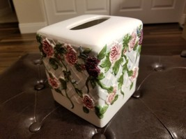 Bath, Vanity, 2 piece set, Tissue Box Cover,Drink or Toothbrush Cup,Coll... - $24.85