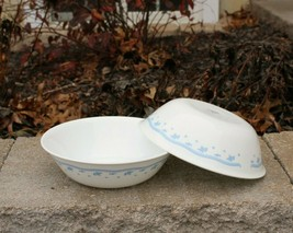 "Set of 2 Corelle Corning Morning Blue 8.5"" Round Vegetable Serving Bowls... - $29.99"