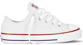 Converse Infant/Toddlers Chuck Taylor Ox Optical White 7J256 - $30.00
