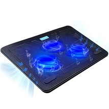 TeckNet Laptop Cooling Pad, Portable Slim Quiet USB Powered Laptop Noteb... - ₹2,203.90 INR
