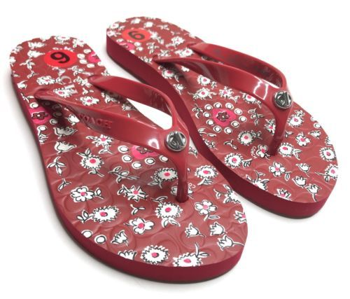 b7626f46fedc Coach Flip Flops NEW Women Size 5-6 Red and 23 similar items. 12