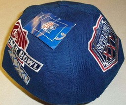 New York Giants Super Bowl Champs Reebok Fitted Hat sz. 7 1/2 nfl - $34.99