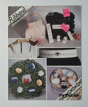 Ribbons Finish Line Glass Bead Counted Cross Stitch Leaflet #2 1983 - $4.25