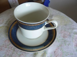 Mikasa cup and saucer (Imperial Lapis) 1 available - $9.16