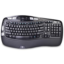 Logitech K350 2.4GHz 102-Key Wireless Multimedia Wave Keyboard w/USB Uni... - €61,12 EUR