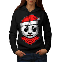 Christmas Panda Sweatshirt Hoody Animal Women Hoodie - $21.99+