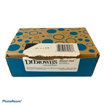 Dr Browns Level 3 & 4 Nipples Wide Neck Pack of 6 Total WN4601-WEB. New Open Box - $9.86