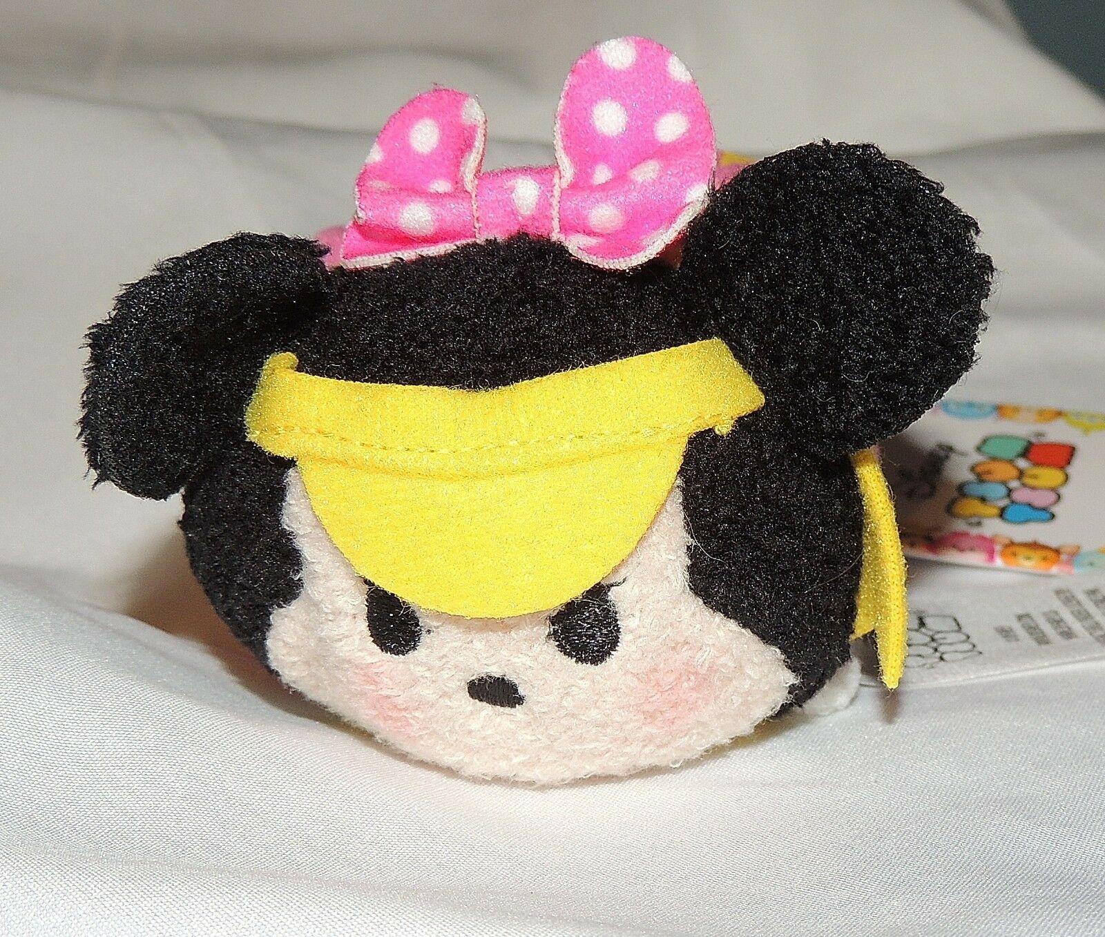 New Disney Tsum Tsum Sports Mickey Minnie Mouse 2 Pce Plush Basketball Golf