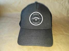 Callaway Golf Hat/Cap Black Mesh Trucker Snapback - $17.41