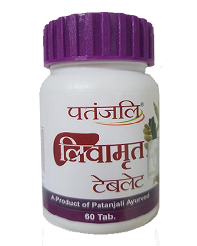 Primary image for Patanjali LIV AMRIT TABLET 40GM - Liver Care