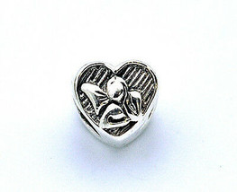 NICE New Beautiful Guardian Angel Charm European bead for jewelry Sterli... - $14.96