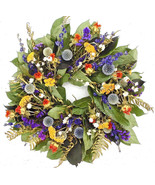 Country Blues. Dried Floral and Herbal wreath - $52.00
