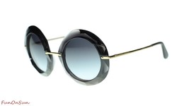 Dolce Gabbana Women Sunglasses DG6105 5048G Grey/Grey Gradient Lens 50mm - $181.39