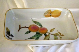 "Royal Worcester 2015 Evesham Gold Deep Rectangular Baker 10"" - $16.37"