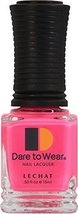 LECHAT Dare to Wear Nail Polish, Pink Lace Veil, 0.500 Ounce - $12.87