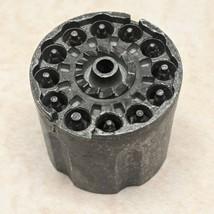 """Vintage Toy Cap Gun Metal Revolver Cylinder 12 Shooter 1 5/16"""" w x 1 7/3... - $9.89"""