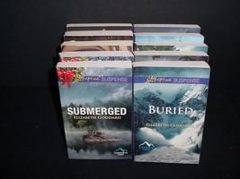 Lot of 10 Harlequin Love Inspired Suspense Paperback Books Pb - $19.70