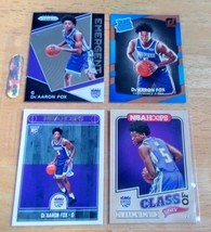 De'arron Fox KINGS LOT(4) Rookie Cards Mint Condition US Free Shipping - $11.27