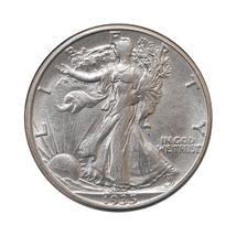 1935 D Walking Liberty Half Dollar - Choice BU / MS / UNC - $167.00