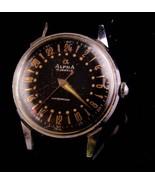 Vintage Alpha Swiss wristwatch - 17 Jewels - waterproof - vintage mens w... - $375.00
