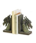 Gifts & Decor 37978 Fierce Dragon Bookends, Multicolor - $36.67