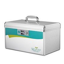 Glosen Medicine Storage First Aid Box with Child Safe Lock 10x6.7x6.7 In... - $46.72