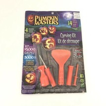 New Pumpkin Masters Carving Kit 14 Patterns Halloween Set #4 Michaels Ex... - $9.80
