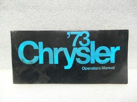 CHRYSLER CHRYS-STD 1973 Owners Manual 16354 - $18.76