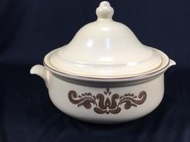 "Pfaltzgraff Village Pattern Covered Casserole Dish 8"" With Lid - $14.99"