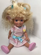 Vtg Playskool Dolly Surprise Holly Surprise Hair Really Grows 1987 With ... - $14.89