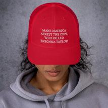 Make America Arrest The Cops Hat / Make America Arrest The Cops / Trucker Cap image 3