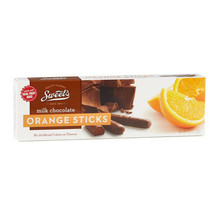 SWEET'S* 10.5 oz Box MILK CHOCOLATE STICKS Candy ORANGE JELLY Real Fruit... - $16.49
