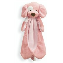 "Baby GUND Spunky Huggybuddy Stuffed Animal Plush Blanket, Pink, 15"" - $24.99"