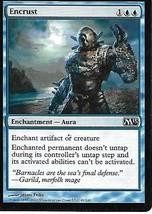 Magic the Gathering Card- Encrust - $1.00