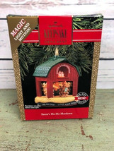 Hallmark Keepsake Motion Light Jingle Bears Musical Christmas Ornament - $15.83