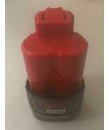 Milwaukee 48-11-2659 M12 RED LITHIUM 12Volt Lithium Ion Cordless Tool Ba... - $21.78