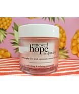 PHILOSOPHY RENEWED HOPE IN A JAR DRY Face Moisturizer Cream Lotion 2 oz ... - $21.62