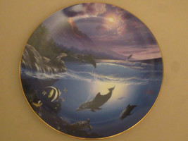 DOLPHIN collector plate SEAL OF APPROVAL Anthony Casay DOLPHIN KISSES #2... - $15.99