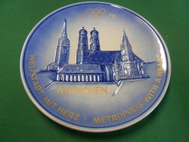 Great Goebel Plate Frauenkirche City Hall & St.Peter In Munich Free Postage Usa - $17.41