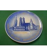 Great GOEBEL Plate FRAUENKIRCHE City Hall & ST.PETER in Munich FREE POST... - $17.41