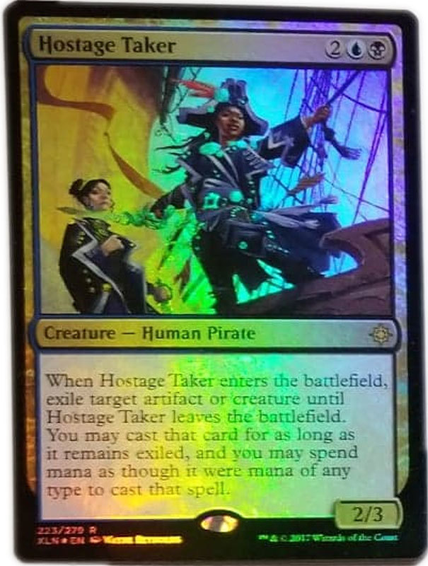 "Magic the Gathering MTG ""Hostage Taker"" Rare Foil Card x1 * NM"