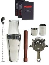 WIN-WARE Boston Cocktail Shaker Gift Set  Inclu... - $48.35