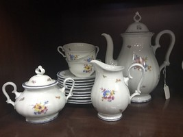 Rosenthal Chippendale Tea Set With Creamer And Sugar - $95.79
